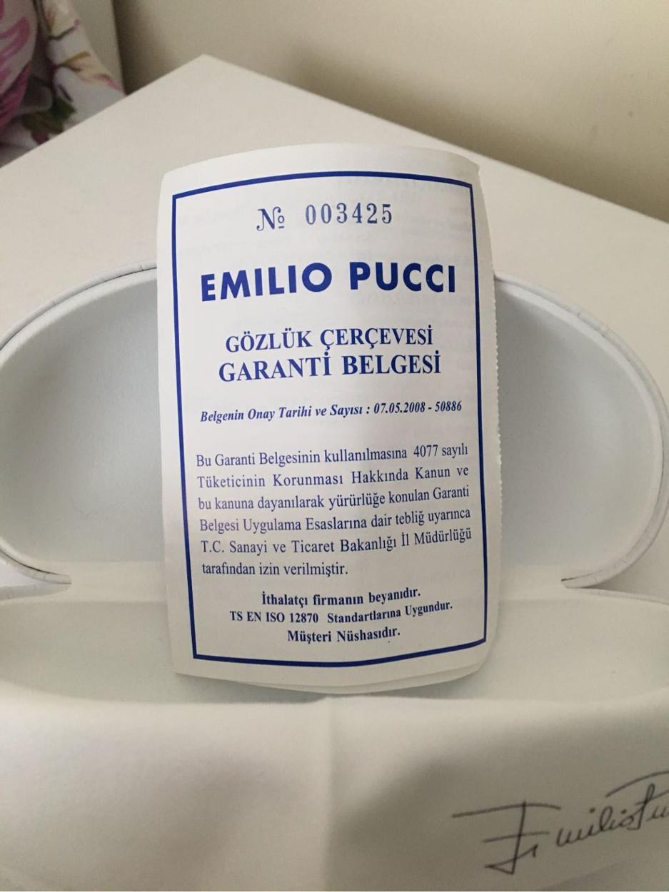 Emilio Pucci Gözlük