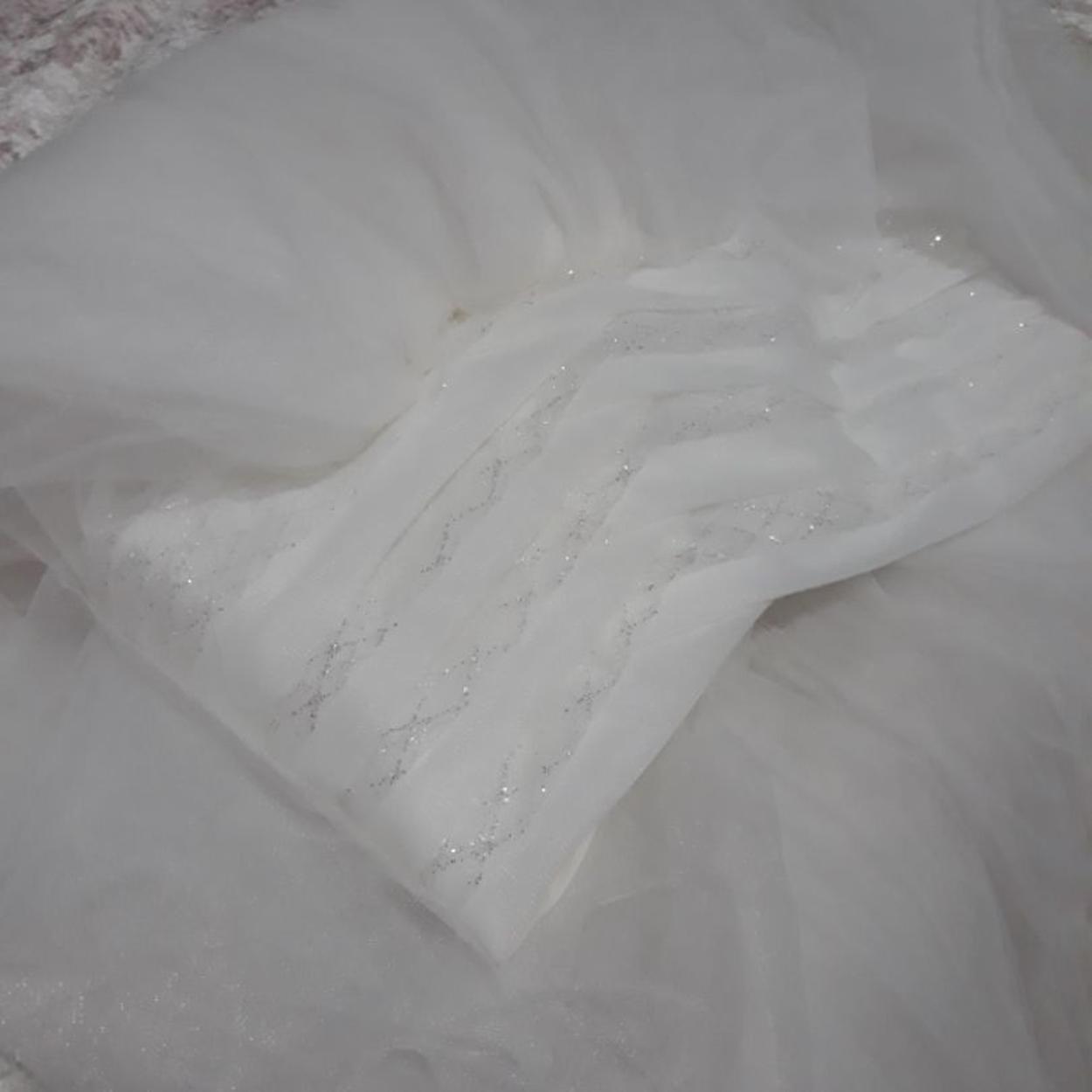 Beyaz Butik Şal/Eşarp
