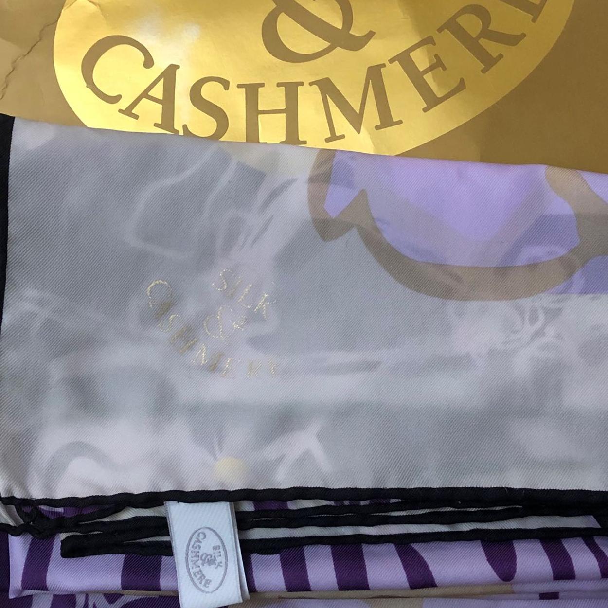 Silk & Cashmere Şal/Eşarp