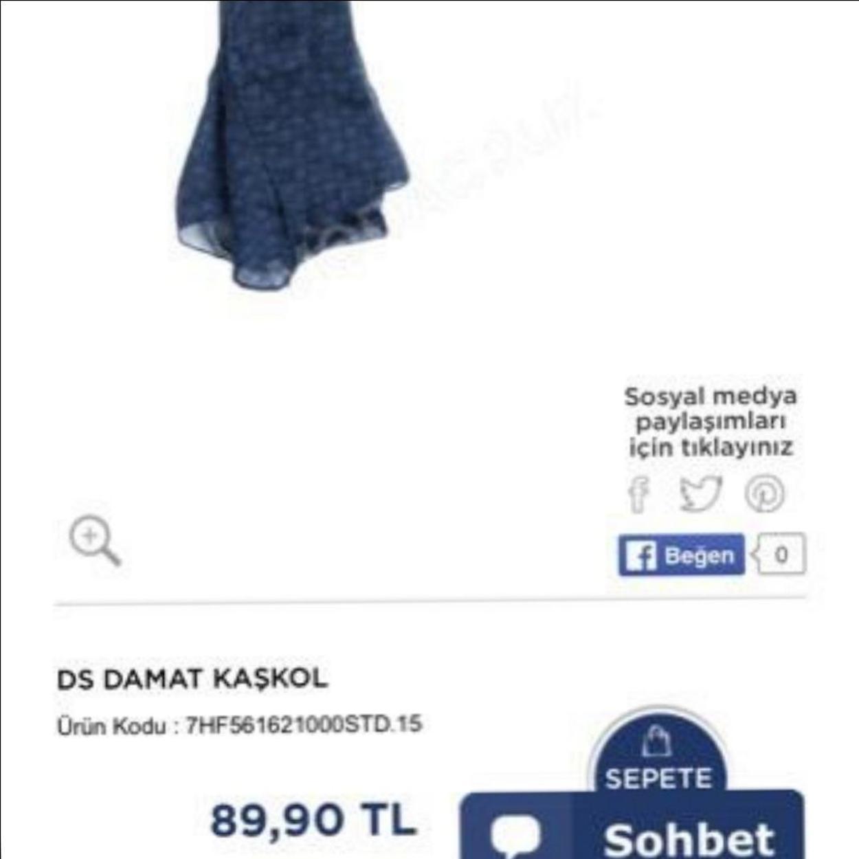 Twist Şal/Eşarp