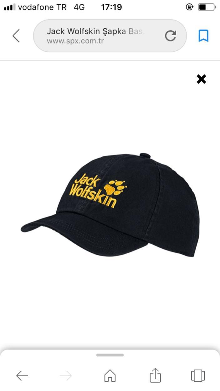 Jack Wolfskin Şapka