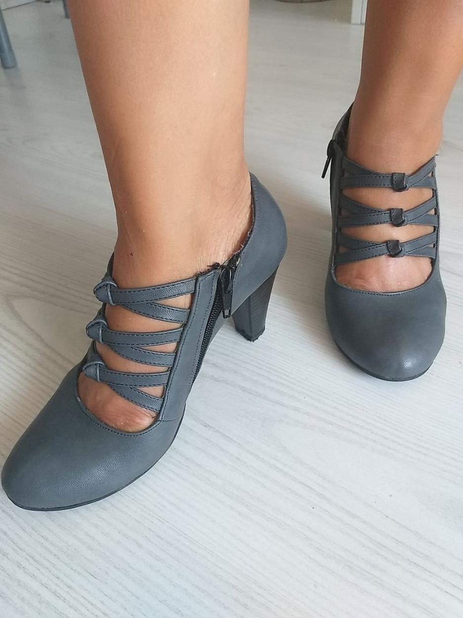 Just Shoes Kalın topuklu