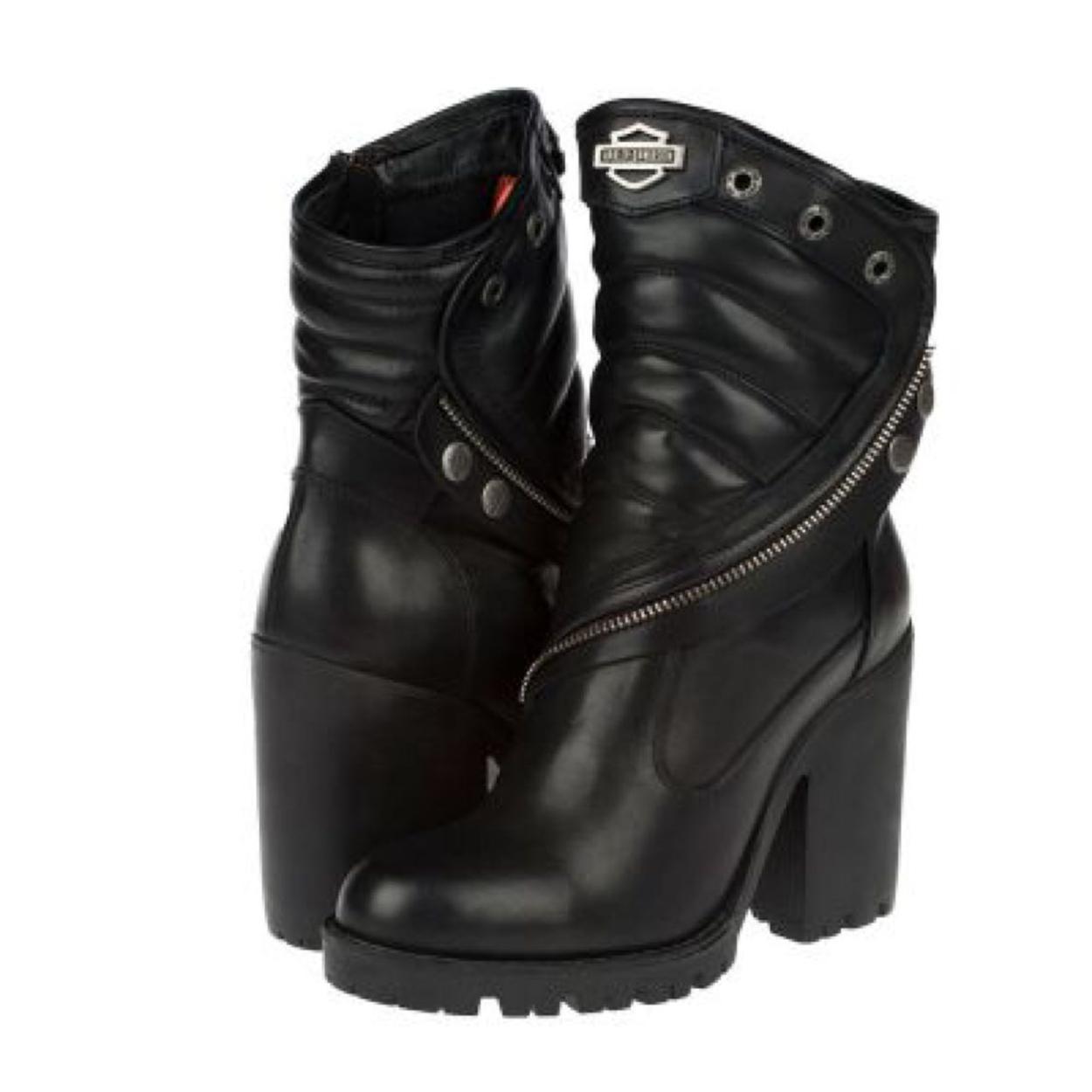 Harley Davidson Kalın topuklu