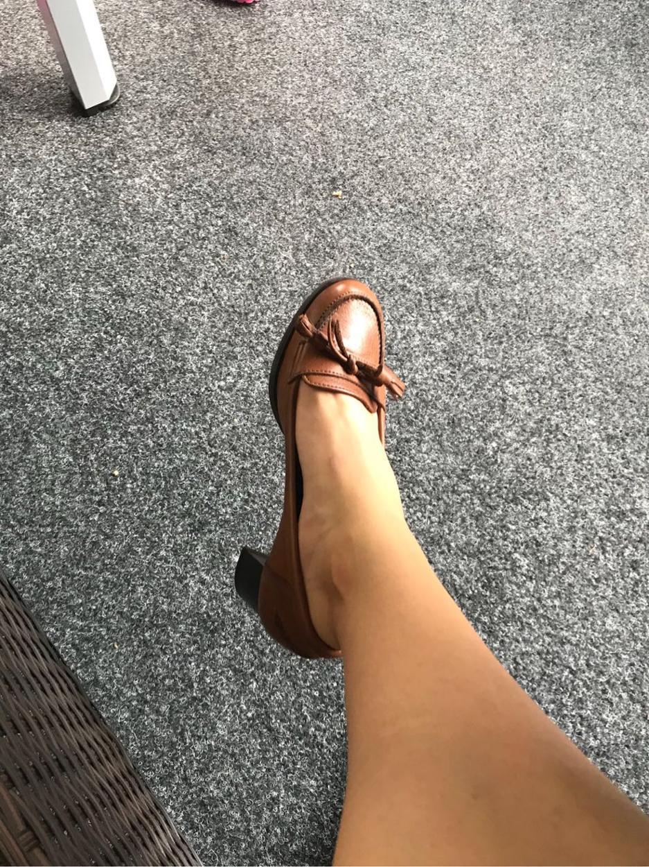 Linda Farrow Kalın topuklu