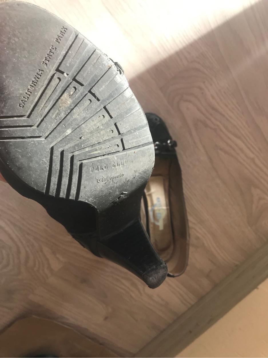 Polo Garage Kalın topuklu