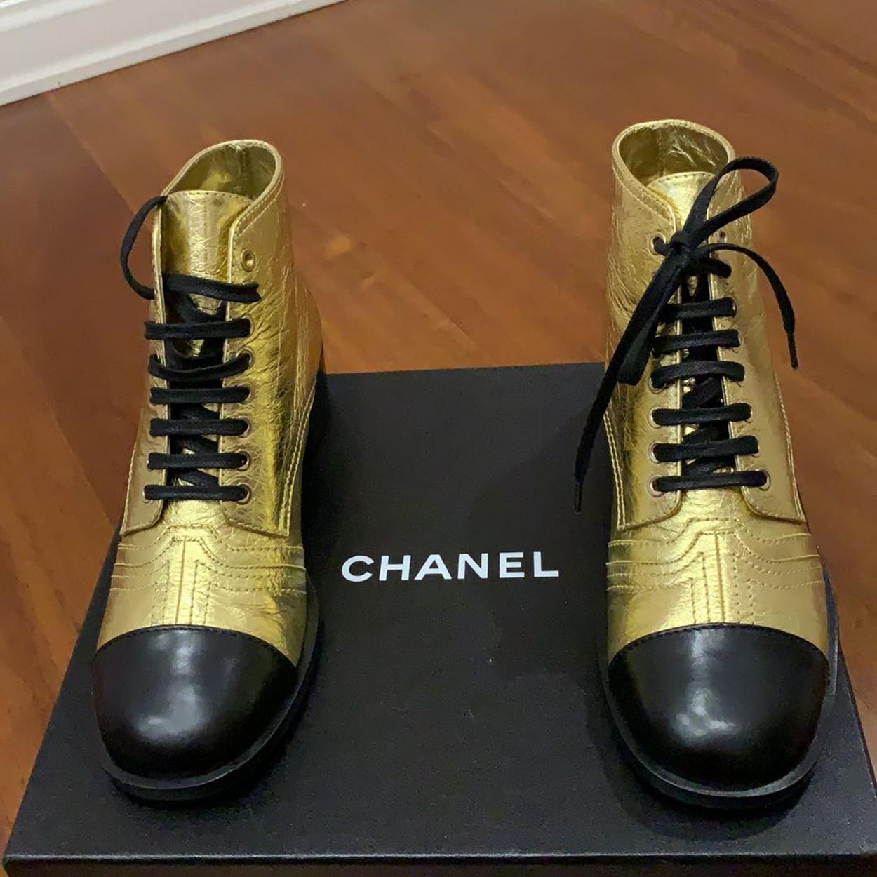 Chanel Kalın Topuklu