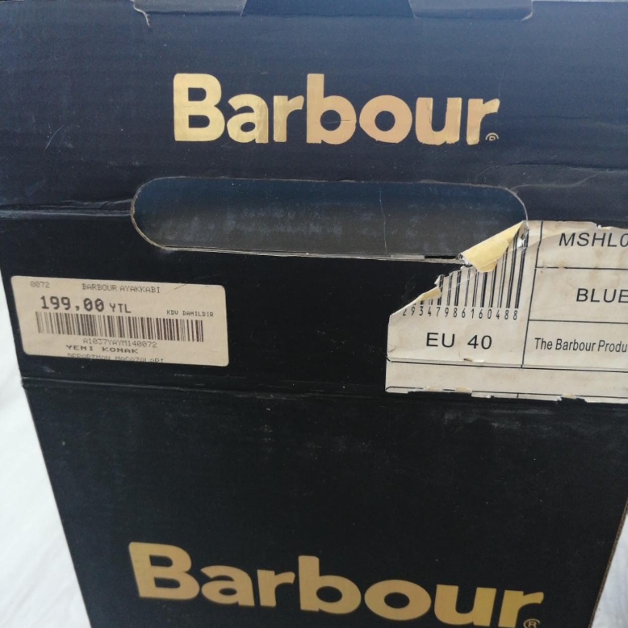 Barbour Kalın topuklu