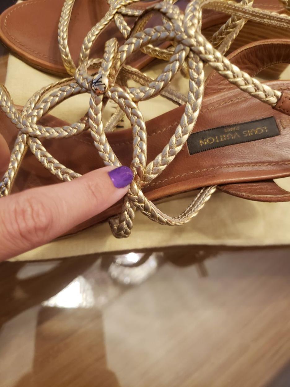 Louis Vuitton Sandalet