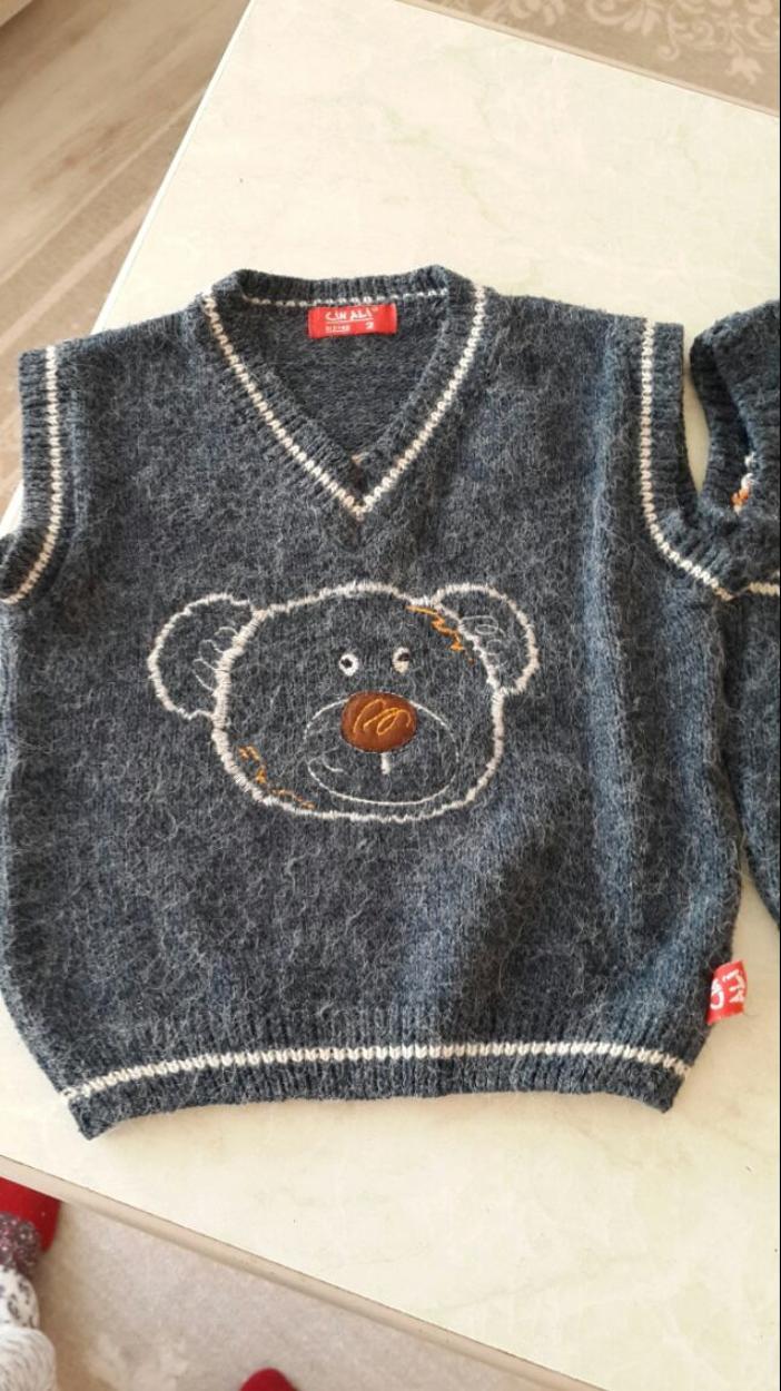 Cin Bebe Kazak & Sweatshirt