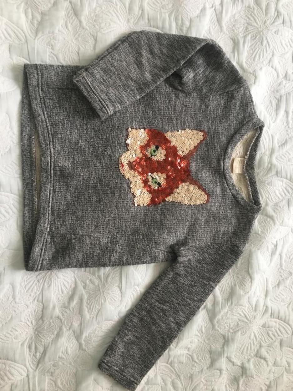 Zara Kazak & Sweatshirt