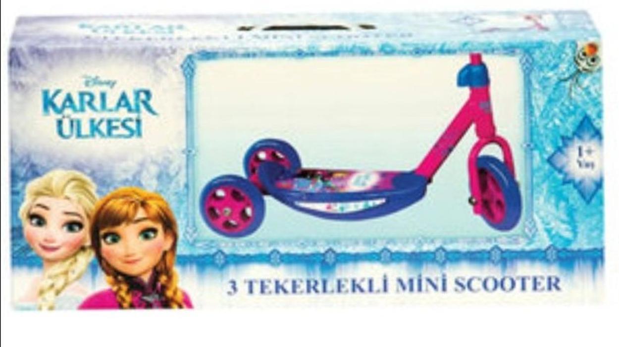 Frozen Scooter & Paten