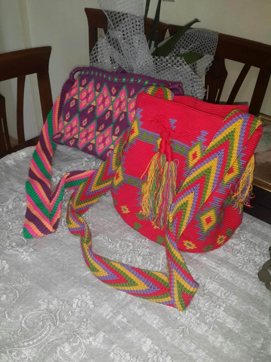 Wayuu Mochila Askılı çanta
