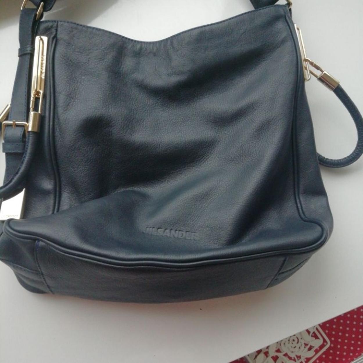 Jil Sander Kol çantası