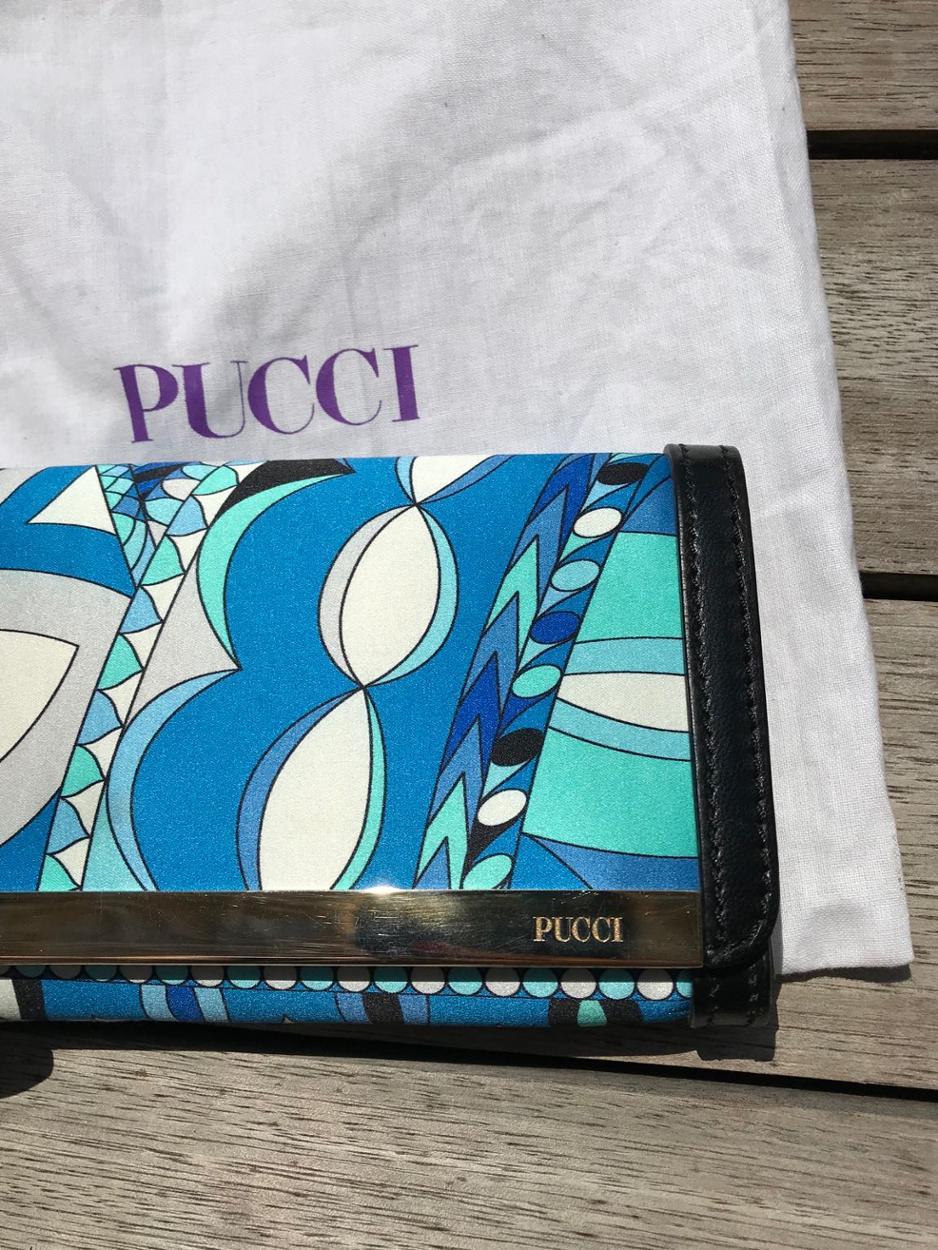 Emilio Pucci Portföy/El çantası