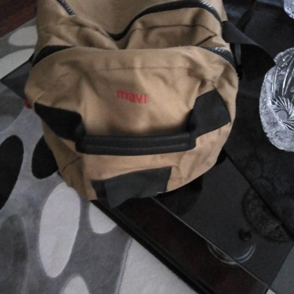 Mavi Seyahat çantası