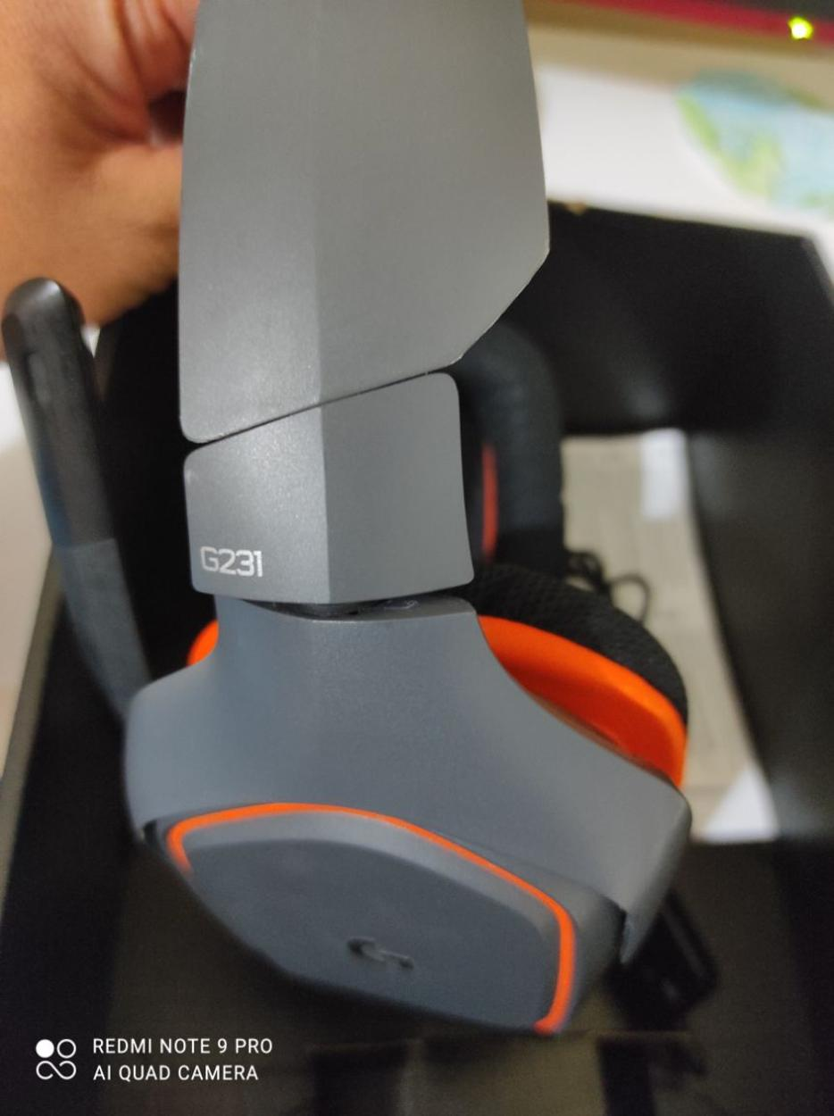 Logitech Oyuncu Kulaklık