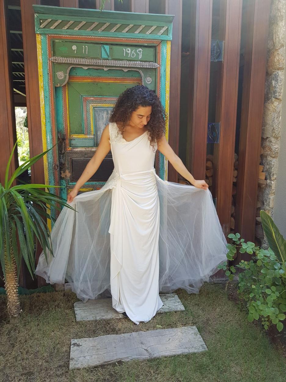 BCBG Max & Cleo Gece elbisesi