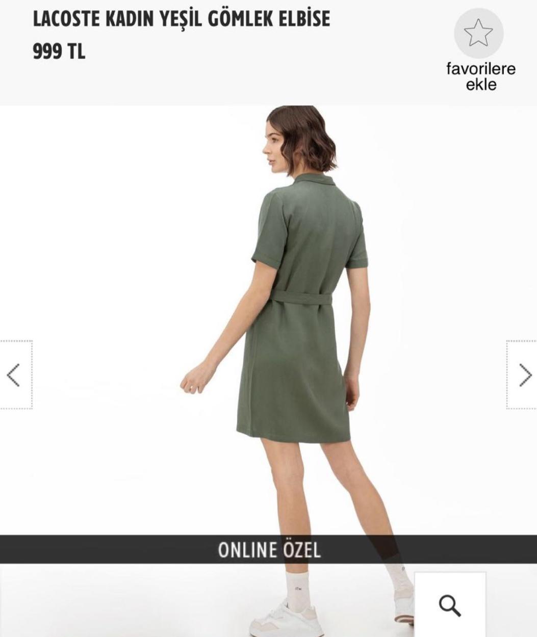 Lacoste Günlük Elbise
