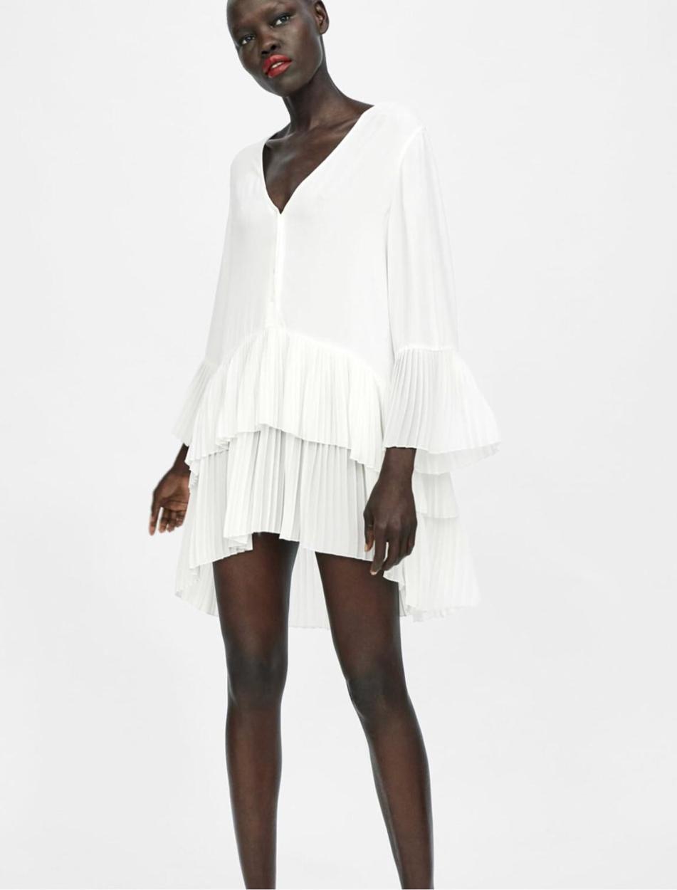 Zara Kısa elbise