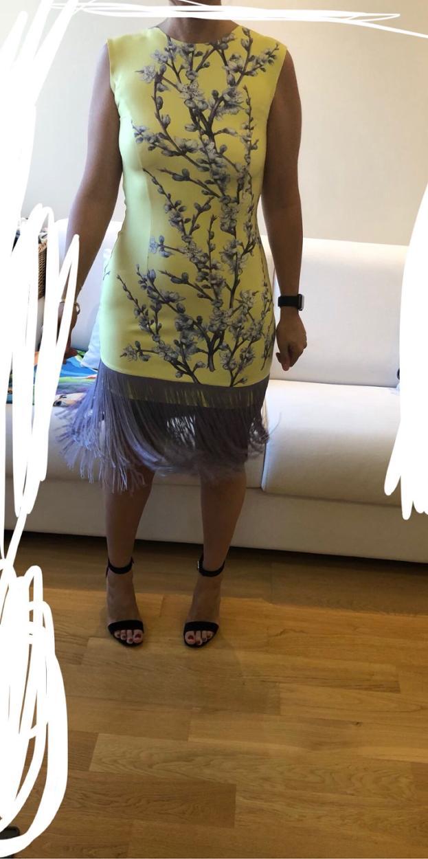 Zeynep Beyazıt Kısa elbise