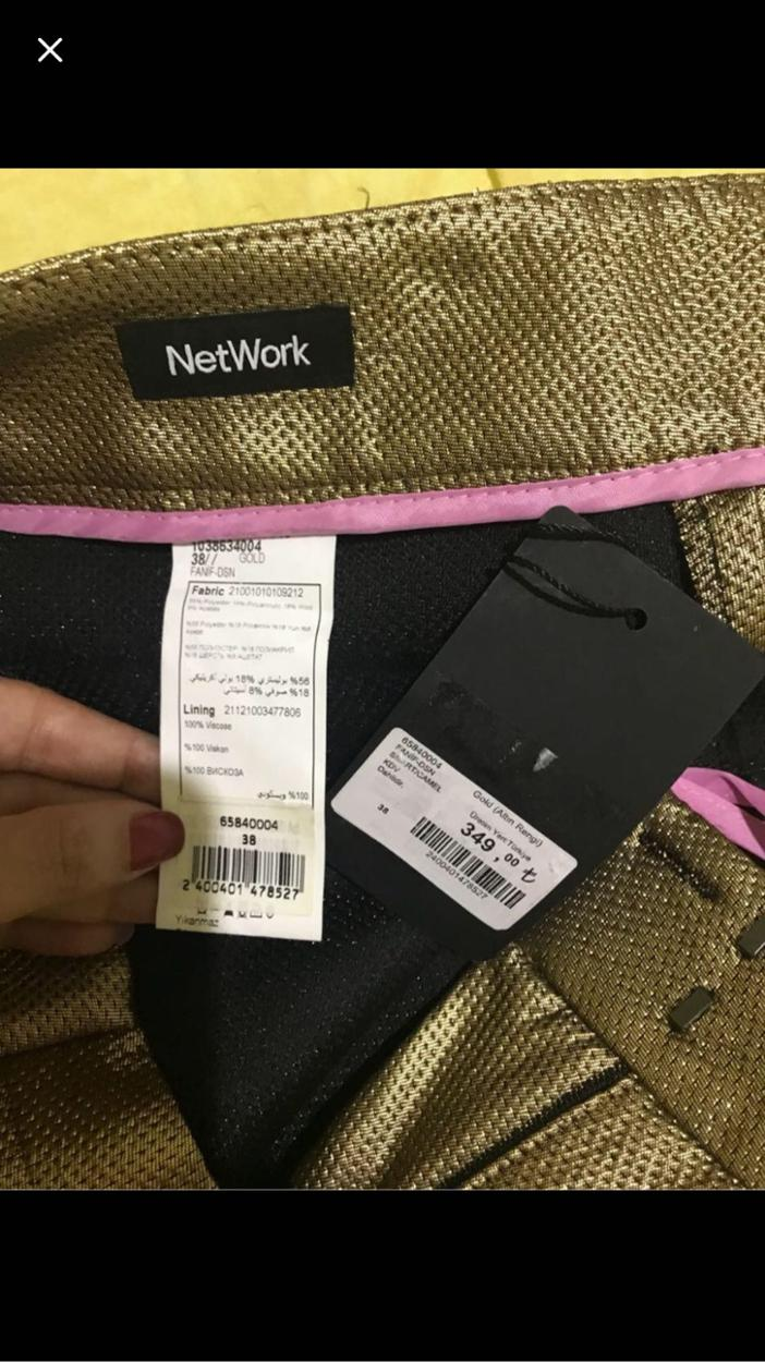 Network Pantolon