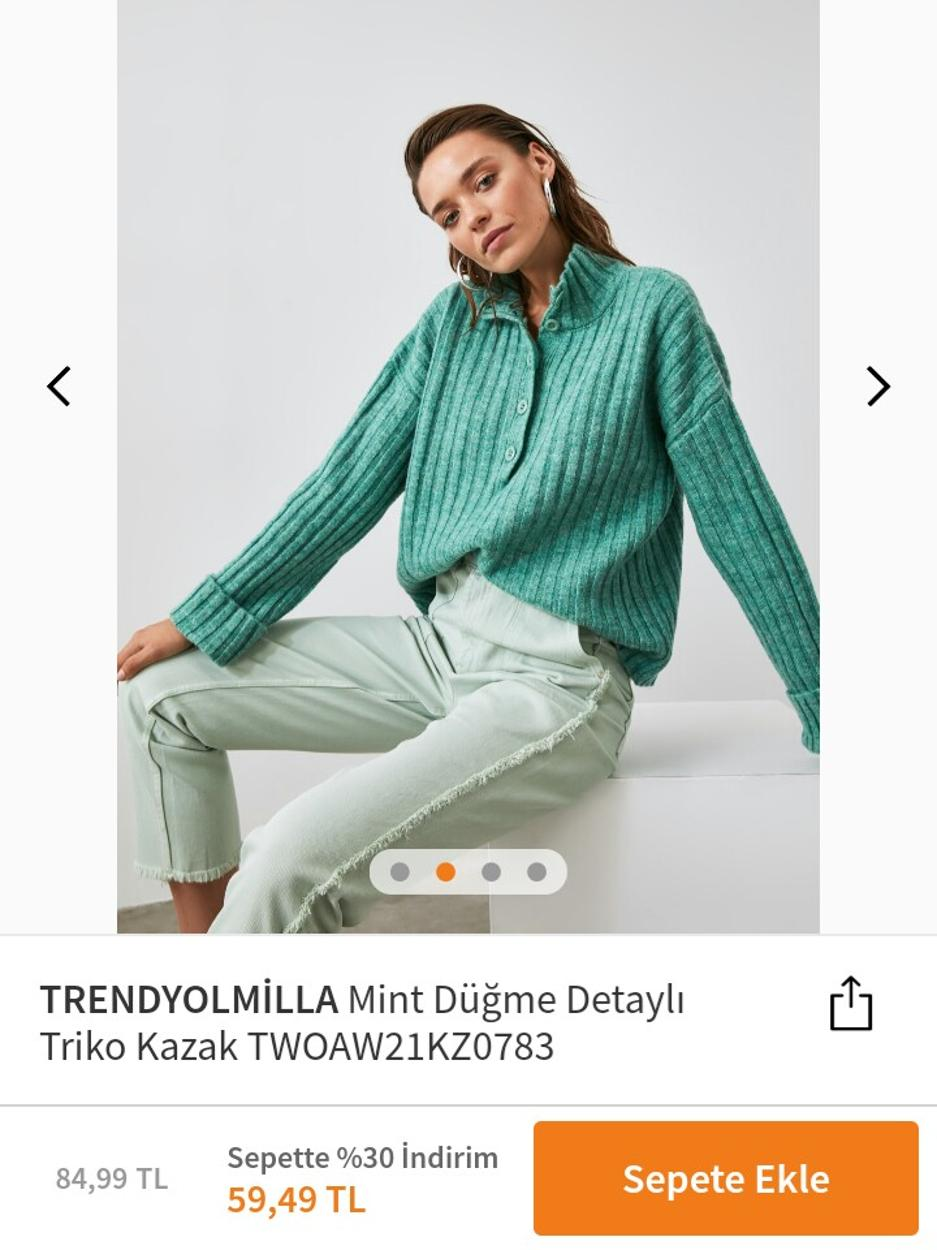 Trendyol Milla Kazak