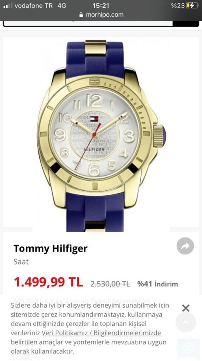Tommy Hilfiger Saat